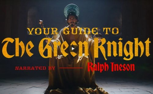 A24 releases a guide to The Green Knight narrated by Ralph Ineson