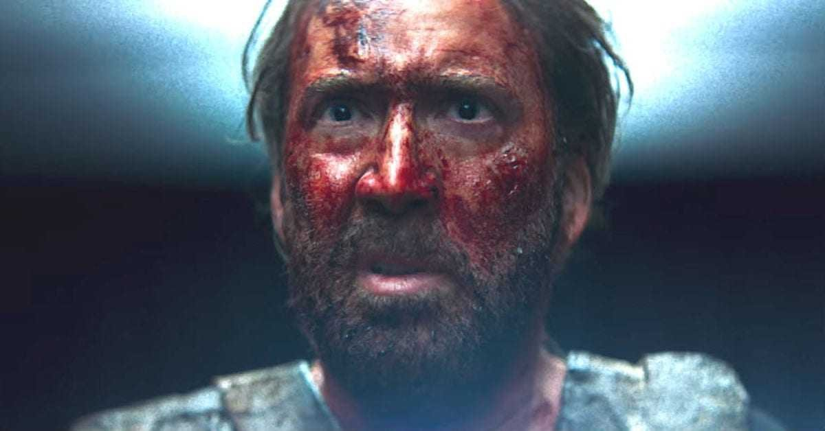 """Nicolas Cage says Prisoners of the Ghostland """"might be the wildest movie I've ever made"""""""