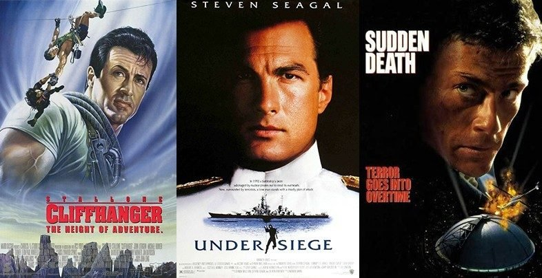 Die Hard with Stallone, Seagal and Van Damme