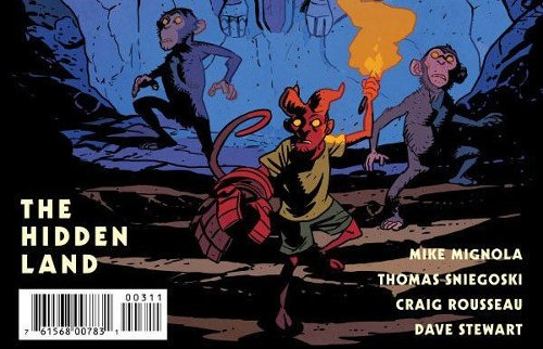 Comic Book Review - Young Hellboy: The Hidden Land #3