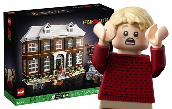 Home Alone gets the LEGO treatment - cover