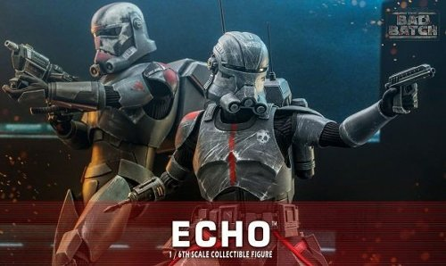 Star Wars: The Bad Batch Echo collectible figure revealed by Hot Toys