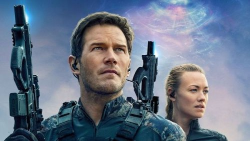 Chris Pratt and Yvonne Strahovski featured on new poster for The Tomorrow War
