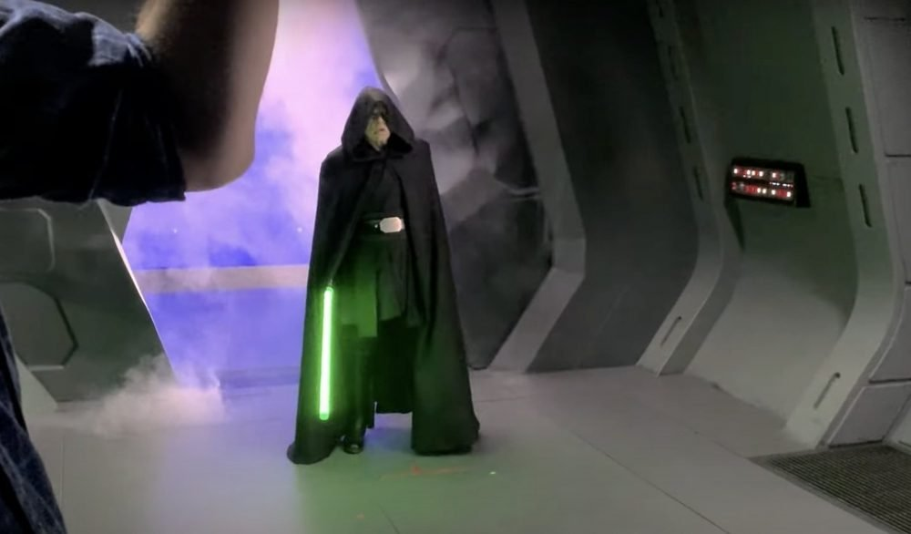 Return of the Jedi! See Mark Hamill back as Luke Skywalker - cover