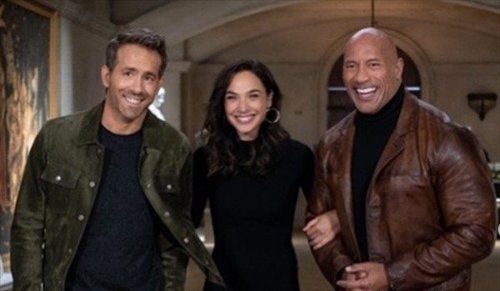 Gal Gadot and Ryan Reynolds share Red Notice behind-the-scenes photos as filming wraps