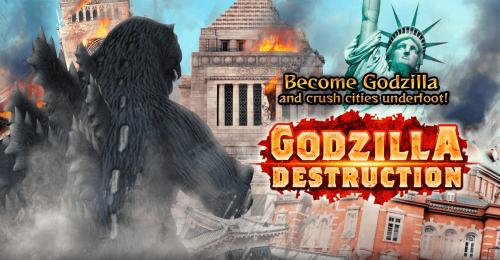 Toho's Godzilla Destruction gets a release date and new trailer