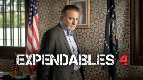 The Expendables 4 recruits Andy Garcia