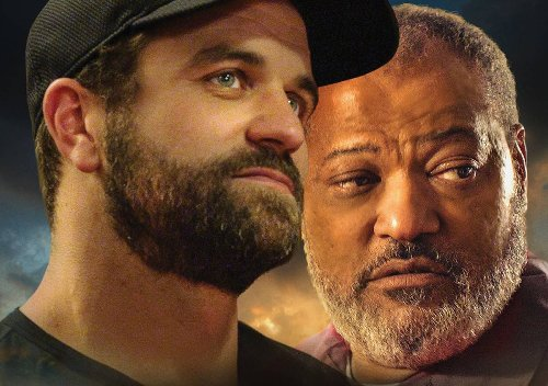Milo Gibson and Laurence Fishburne star in trailer for Under the Stadium Lights