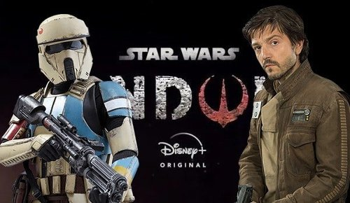 Star Wars: Andor set photos feature Diego Luna's Rebel spy and Imperial Shoretroopers