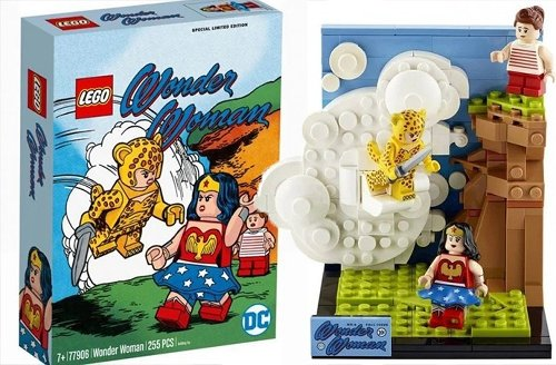 LEGO pays tribute to classic Cheetah cover with limited edition Wonder Woman set