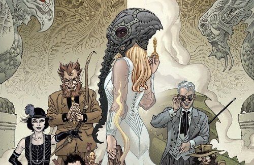 Comic Book Preview - Locke & Key/The Sandman Universe: Hell & Gone #1