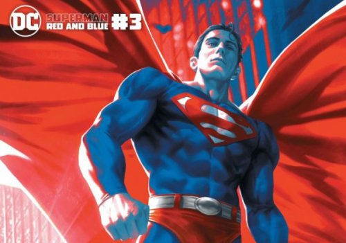 Comic Book Preview - Superman Red & Blue #3