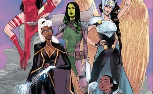 Comic Book Preview - Women of Marvel #1