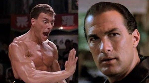 The Film Feud of the 90s: Steven Seagal vs Jean-Claude Van Damme