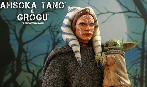 Star Wars: The Mandalorian Ahsoka Tano and Grogu collectible set revealed by Hot Toys