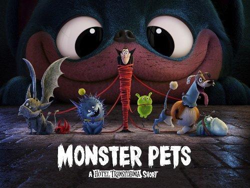 Sony releases Hotel Transylvania short film Monster Pets