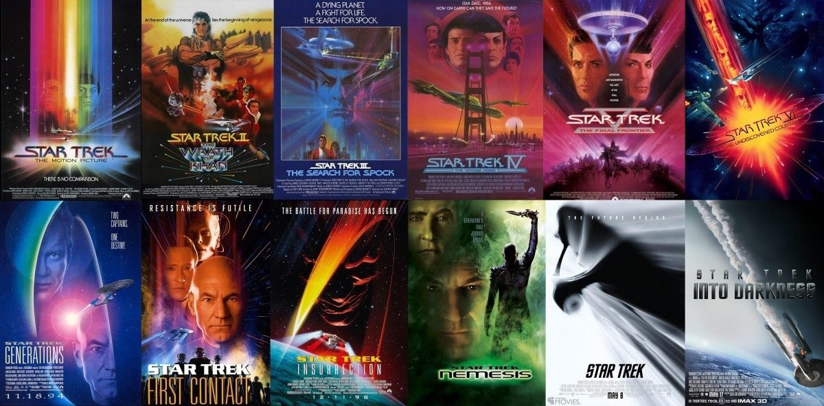 To Boldly Go: Ranking Every Star Trek Movie From Worst To Best