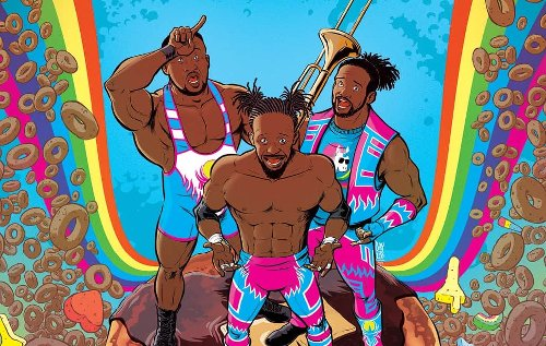 WWE The New Day: Power of Positivity comic book announced by Boom! Studios
