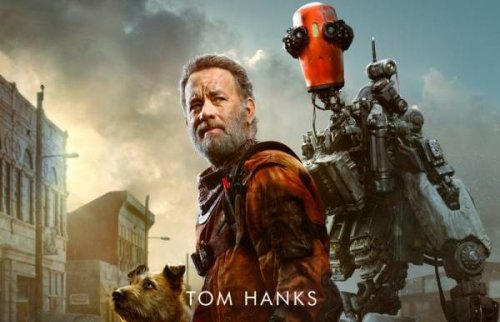Tom Hanks sci-fi Finch gets a first poster