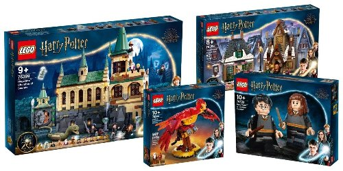 LEGO Harry Potter Wizarding Collection 20th Anniversary sets revealed