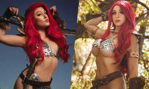 Red Sonja: The Superpowers TPB incoming in August from Dynamite