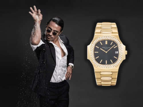 A Look at Salt Bae's Insane Patek Philippe Collection