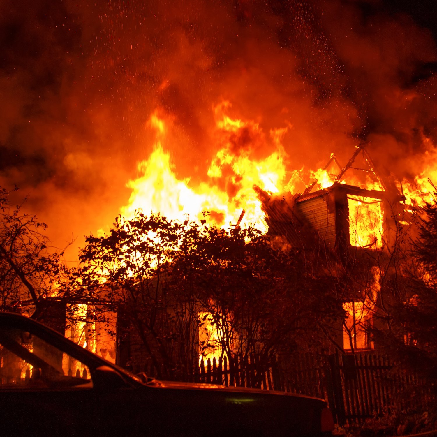 Listen: Homes Destroyed in California's Largest Wildfire