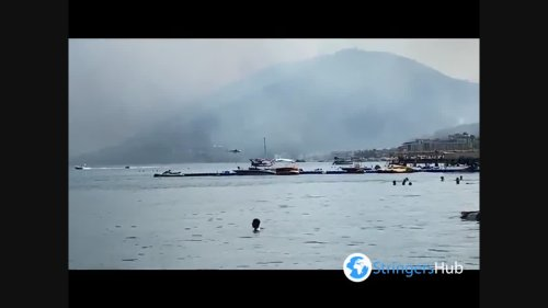 Hotels In Turkish Marmaris Evacuate Due To Forest Fire