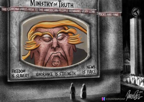 This just in from the Ministry of Truth  cover image