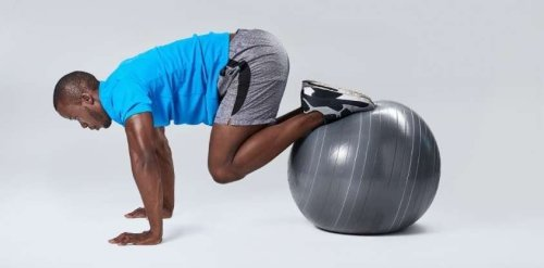 These Stability Ball Workouts Strengthen Weak Spots and Improve Balance