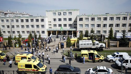 Several killed and others injured in school shooting in Russian city of Kazan