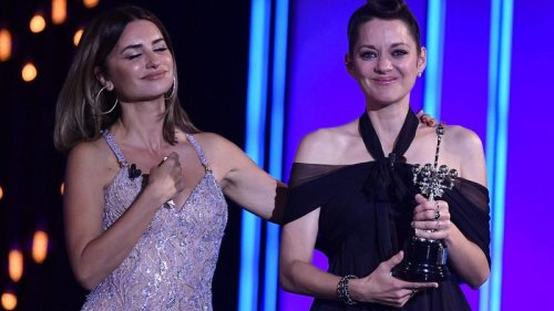 French actor Marion Cotillard wins award at Spain's top film festival