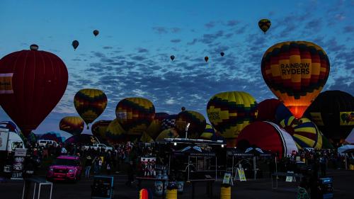 'Albuquerque International Balloon Fiesta (Oct 8, 2019) - Timelapse'
