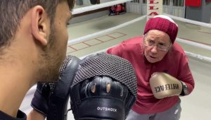 Brawlin' Granny! 75-Year-Old Woman Practices Boxing To Take on Parkinson's Disease!