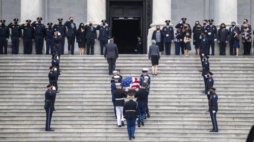 Fallen Capitol Police Officer William Evans Lies In Honor