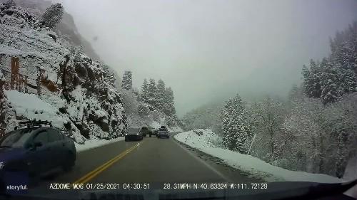 Dramatic Crash in Utah Sends Vehicles Tumbling Toward River Below