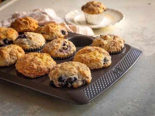 The secret to perfecting classic blueberry muffins