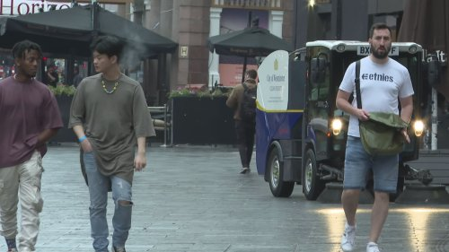 Central London cleaned after first Friday night of freedom