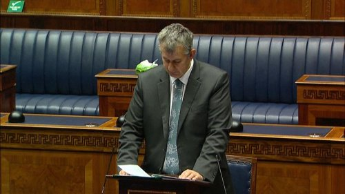Edwin Poots is the new leader of Northern Ireland's DUP