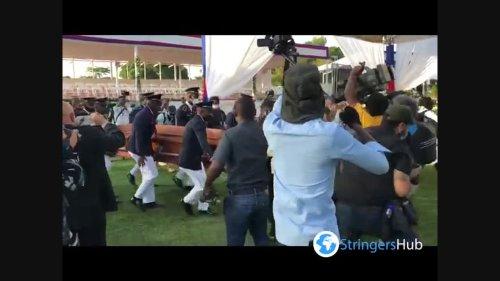 Haiti: President Jovenel Moïse's Body Arrives Cap-Haitien For His Funeral