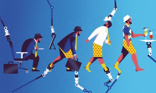 A world without work is coming – it could be utopia or it could be hell