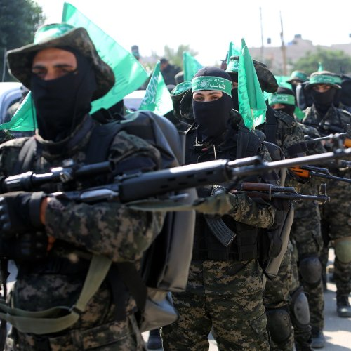 Listen: Hamas Remains Defiant With Military Parade