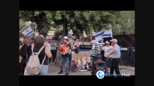 People Celebrate Formation Of New Israeli Government in Jerusalem