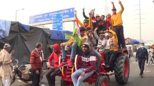 India Cracks Down On Tech Platforms Amid Country's Farmer Protest