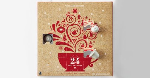 Williams Sonoma's Coffee Advent Calendar Is the Perfect Gift for Espresso Lovers