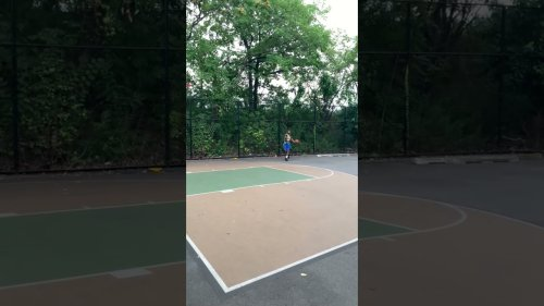 Accurate Basketball Player Impresses with Impossible Longshot!
