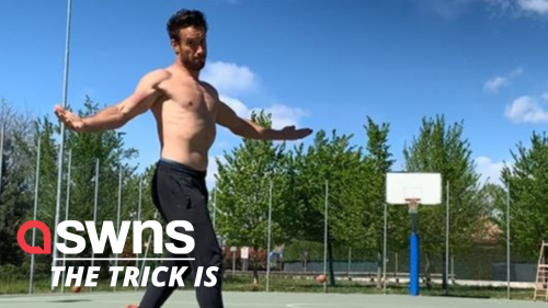 Meet the athlete who shows off seemingly superhuman feats with his incredible trick shots!