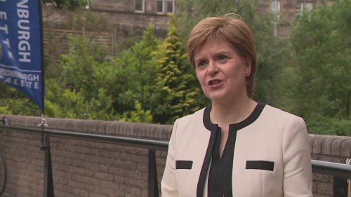 Sturgeon brands 'One Britain One Nation Day' 'ludicrous'