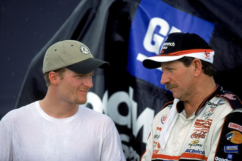 """This """"pimple on your a**"""" story is our favorite Earnhardt father-son tale yet"""