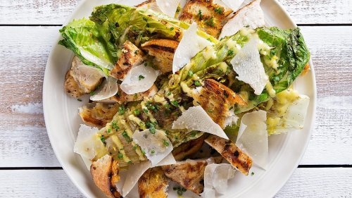 This Grilled Chicken Caesar Salad Will Become Your Summer Go-To